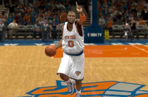 Lamar Odom on the Knicks in NBA 2K14