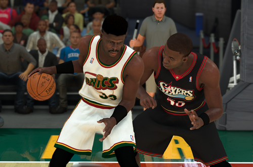 Retro Teams You Can Create: 2001 Sonics (NBA 2K20)