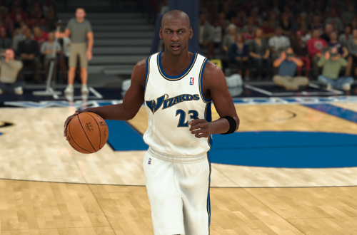 2003 Wizards created in NBA 2K20