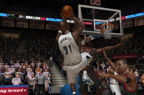 Kevin Garnett in NBA Live 06