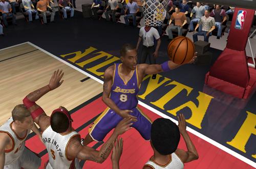 Kobe Bryant in NBA Live 06