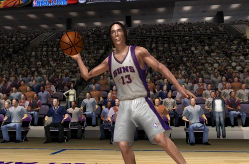 Steve Nash in NBA Live 06