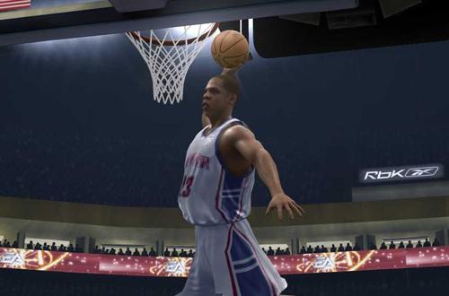 Jay-Z in NBA Live 07