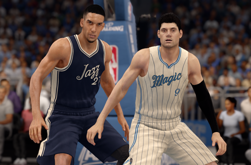 Christmas Jerseys in NBA Live 16