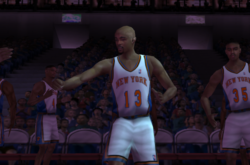 Mark Jackson on the Knicks in NBA Live 2001
