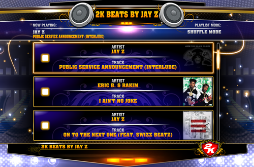 Beats by Jay-Z in NBA 2K13