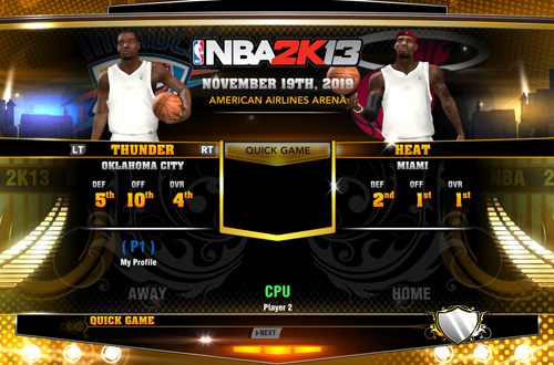 Jersey Errors in NBA 2K13