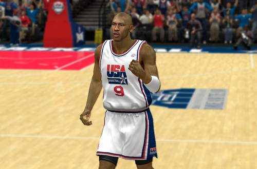 Michael Jordan on the Dream Team (NBA 2K13)