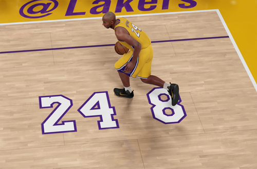 Kobe Bryant Retirement Game Court (NBA 2K16)