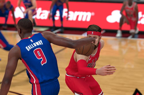 Clipping Issues in NBA 2K18