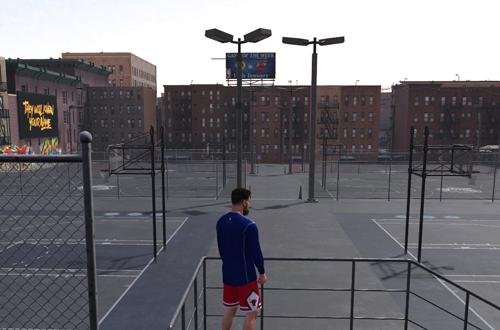Deserted Playground in NBA 2K18