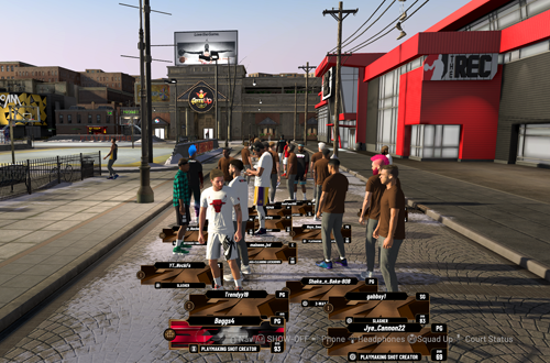 A bustling Neighborhood highlights the popularity of career modes