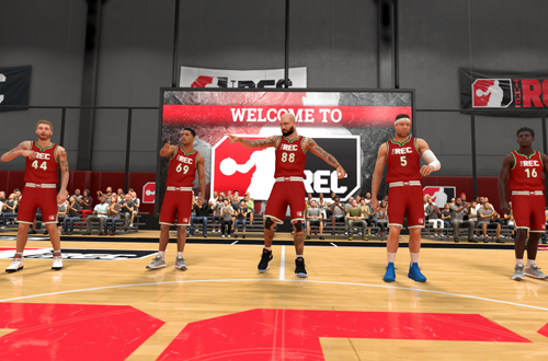 Christmas Game in The Rec (NBA 2K20)