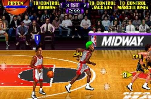 Scottie Pippen in NBA Hangtime