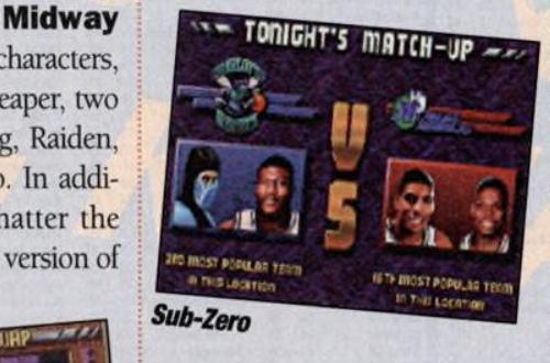 False Memories: Mortal Kombat Characters in NBA Jam TE