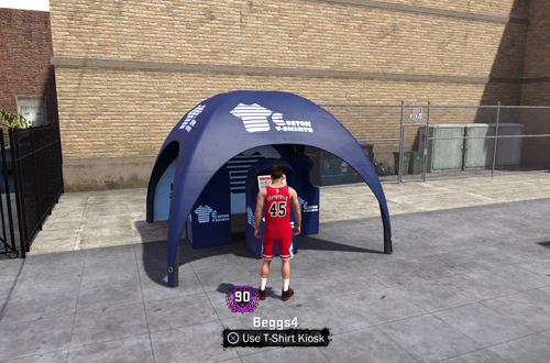 Immaturity ruined the T-Shirt Kiosk in NBA 2K18