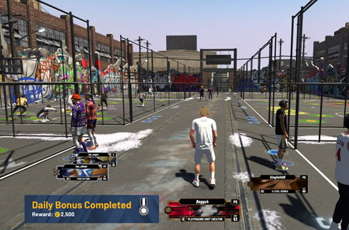 Daily Bonus from playing in The Cages (NBA 2K20)