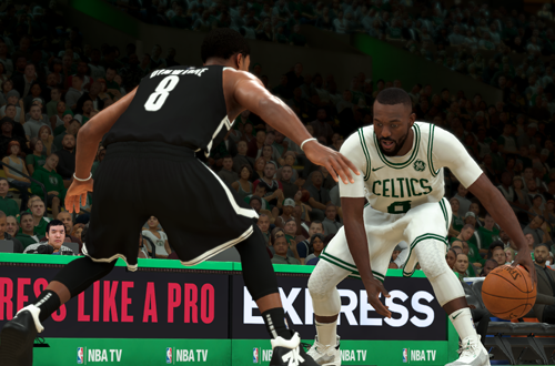 Kemba Walker in NBA 2K20