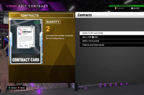 Diamond Contract