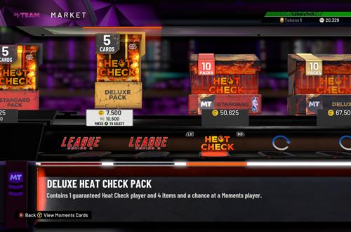 Packs in NBA 2K20 MyTEAM