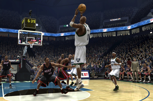 Signature Shots were one of the best things in NBA Live 07