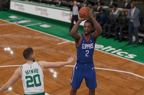 Adjustments ruined jumpshots in NBA Live 19