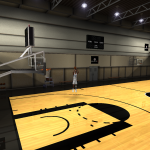 NBA Elite 11 Practice Court for NBA Live 08 V3