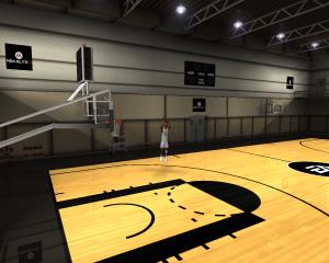 NBA Elite 11 Practice Court for NBA Live 08 V3