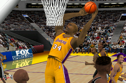 Shaq in Fox Sports NBA Basketball 2000