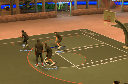MyPARK Game in NBA 2K17