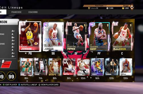 Nostalgia in MyCAREER (NBA 2K19)