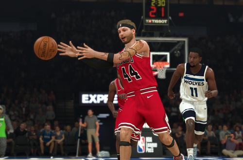 Assist Pass in MyCAREER (NBA 2K20)