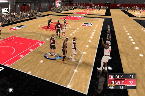 Final seconds in a loss (NBA 2K20)
