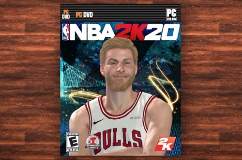 Outdated Details: DVD-ROM Cover in MyCAREER (NBA 2K19)
