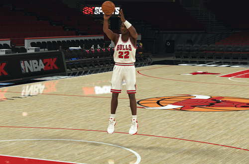 Shooting around with Clyde Drexler (NBA 2K20 MyTEAM)