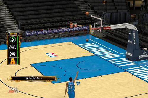 Shot Feedback in NBA 2K13
