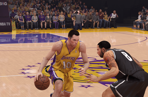 Steve Nash in NBA 2K14
