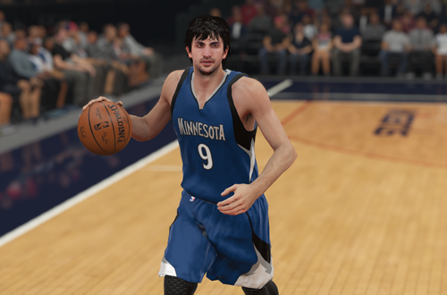 Ricky Rubio in NBA 2K15