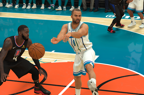 Tony Parker in NBA 2K19