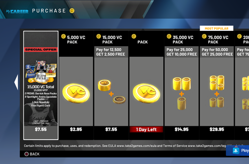VC Sales Are For The Suits (NBA 2K20)