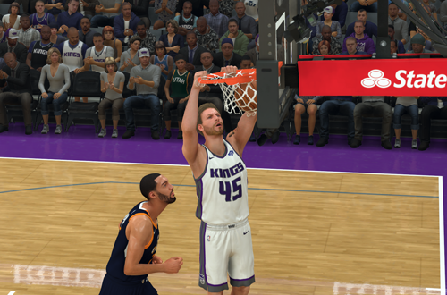 MyPLAYER Dunking in NBA 2K20
