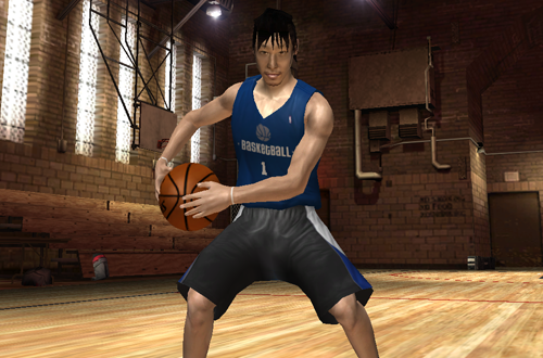 International Cover Players: Yuta Tabuse (NBA Live 06)