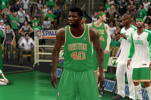 Michael Finley on the Boston Celtics (NBA Live 10)