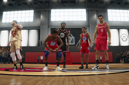 Court Battles Victory in NBA Live 19
