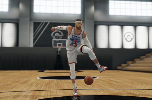 The Professor Dribbling Animations in NBA Live 19
