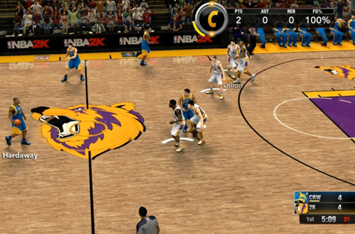 Last Gen Surprises: Crew Mode (NBA 2K15)
