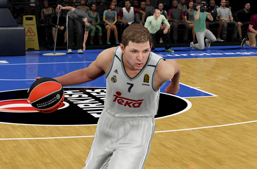 Luka Doncic in NBA 2K16