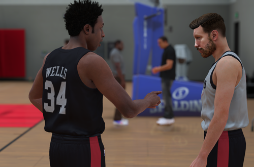 Advice from Shammy Wells (NBA 2K18 MyCAREER)