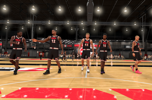 Big Man in The Rec (NBA 2K20)