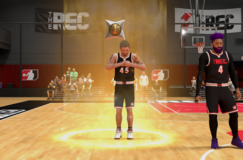 MyREP Level Up in The Rec (NBA 2K20)